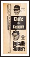 1969 Louisville Slugger Pete Rose Ad Picture Frame print