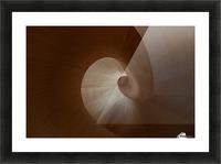 Spiral by Heather Bonadio  Picture Frame print