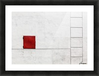 Suprematism is all Around Picture Frame print