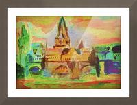 St Charles Bridge  Picture Frame print
