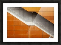 Steel Picture Frame print