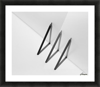 Triangles by Jacqueline Hammer  Picture Frame print