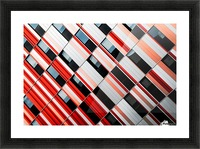 Mo-zA Picture Frame print