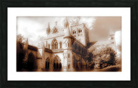 The cathedral Picture Frame print