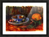 Still life with cup Picture Frame print