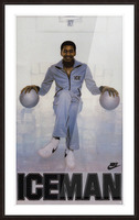 1982 George Gervin Nike Iceman Poster Picture Frame print