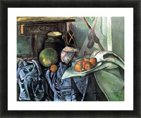 Still life with Eggplant by Cezanne Picture Frame print