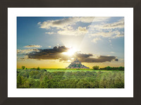 Mount Saint Michael Normandy France - Gallery 2017 Artwork of the Year Winner Picture Frame print