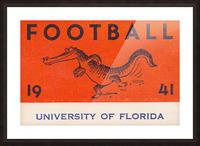 1941 Florida Gators Football Picture Frame print