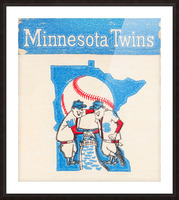 1967 Minnesota Twins Art Picture Frame print