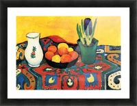 Still Life with Hyacinthe by Macke Impression et Cadre photo
