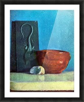 Still Life with lizard by Degas Picture Frame print