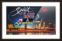 1987 St. Louis Cardinals Baseball Art Picture Frame print