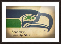 1979 Seattle Seahawks Art Picture Frame print