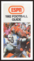 1982 ESPN College Football Guide Poster Picture Frame print