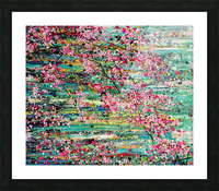 Cherry Blossoms Picture Frame print