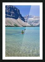Kayaking Picture Frame print
