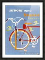Bicycle Hidori Picture Frame print