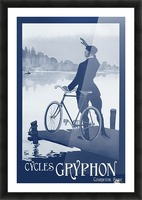 Cycles Gryphon Picture Frame print