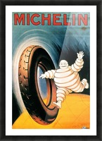 Michelin Poster Picture Frame print