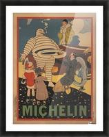 Michelin Pneu Picture Frame print