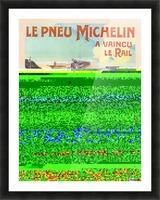 Le Pneu Michelin a vaincu le rail Picture Frame print