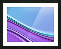 Abstract background. Picture Frame print