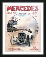 Mercedes Grand Prix Picture Frame print