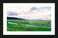 The Estuary in Fall Picture Frame print