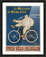 Pneu Velo Michelin Picture Frame print
