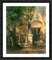 Sunlight and Shadow 2 by Bierstadt Picture Frame print