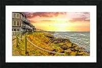Depoe Bay On the Oregon Coast Picture Frame print