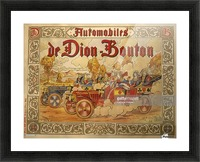 Dion Bouton Picture Frame print
