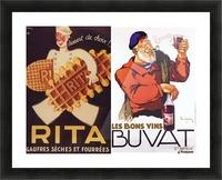 Rita Buvat Picture Frame print