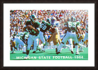 1984 Michigan State Football Poster Picture Frame print