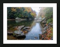 Slippery Rock Creek apmi 1924 Picture Frame print