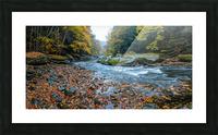 Slippery Rock Creek apmi 1938 Picture Frame print