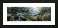 Slippery Rock Creek apmi 1931 Picture Frame print