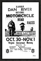 Dan River Race Picture Frame print