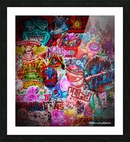 Big Street art  Picture Frame print