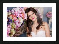 European brides Picture Frame print