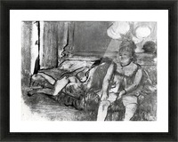 Taking a rest by Degas Picture Frame print