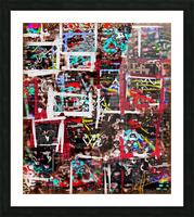 Mortar and Pestled Entheogen Picture Frame print