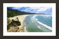Wild Oregon Coast Picture Frame print