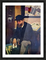The Amateur by Degas Picture Frame print