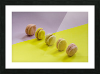 food macaroon photography Picture Frame print