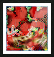 Residents of a Growling Stomach Picture Frame print