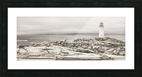 Peggys Cove Lighthouse Picture Frame print