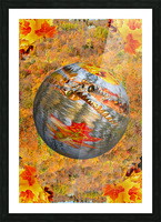 Abstract - Autumn II Picture Frame print