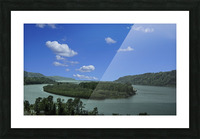 Columbia River The Gorge Oregon Panorama Picture Frame print